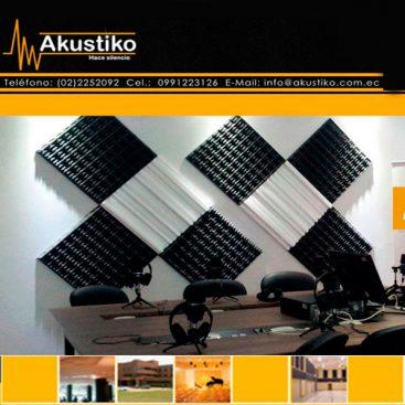 Aislantes acusticos Akustiko