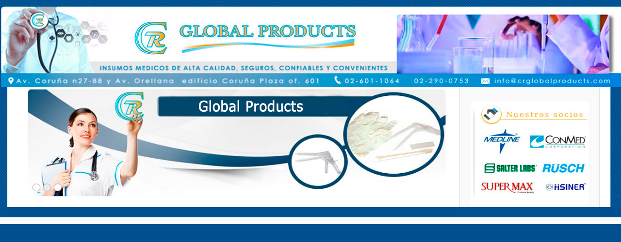 Insumos médicos Crglobal products
