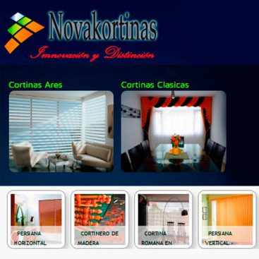 cortinas en quito novakortinas