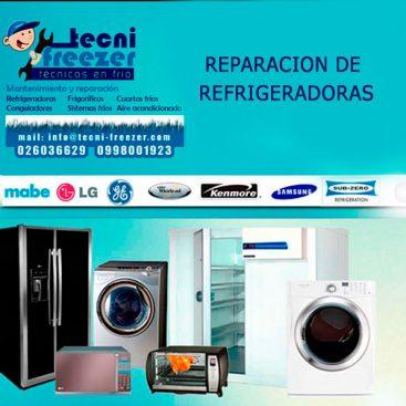 reparacion de refrigeradoras tecnifreezer
