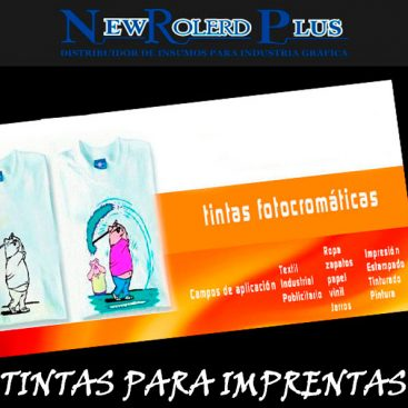 tintas para imprentas new rolerd plus