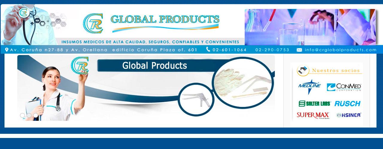 Insumos médicos Crglobal products