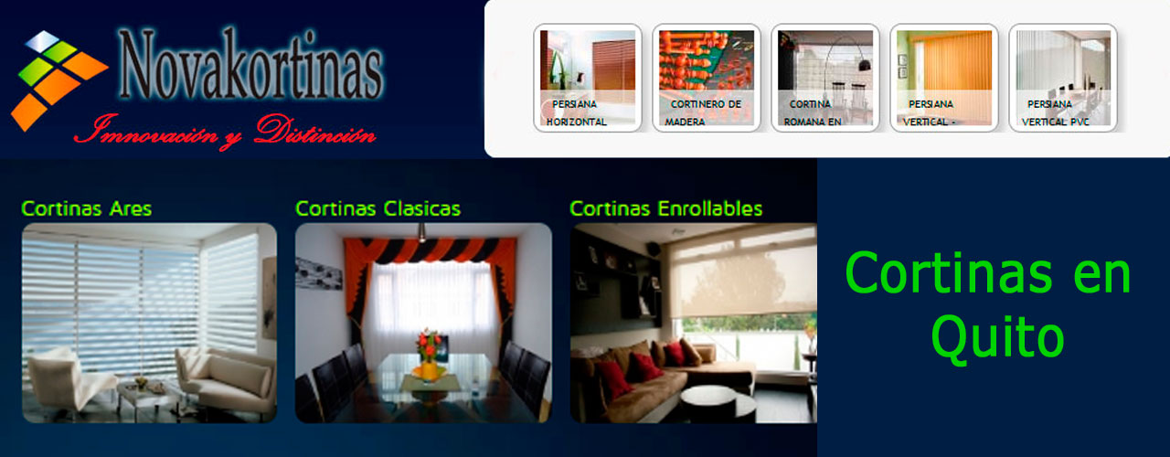 cortinas en quito novakortinas